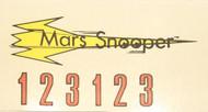 Semroc Decal - Mars Snooper™   SEM-DKV-92 *