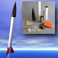 "Mad Cow Flying Model Rocket Kit Discovery 2.6"" (29mm)"