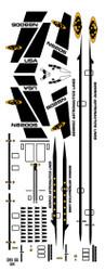 Semroc Decal - Orbital Transport™ Black  SEM-DKV-66BK *