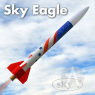 Sky Flying Model Rocket Kit Sky Eagle  7154 *