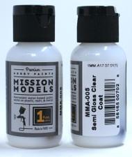 Mission Models Semi Gloss Clear 1fl oz  MMA-005