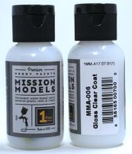Mission Models Gloss Clear 1fl oz  MMA-006