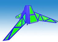 Estes Flying Model Rocket Kit Hex-3 7263