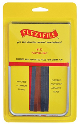 Flex I File 0123 Combo Sanding Set