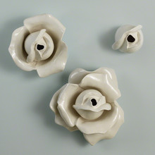 Rose Bud Wall Brooch