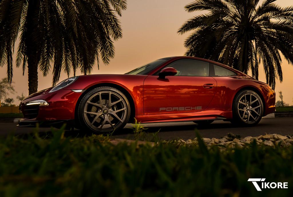 TiKORE + Porsche 991 + Vorsteiner