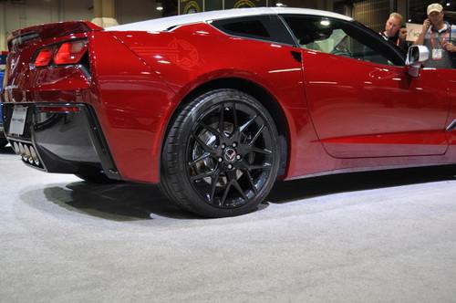 Corvette Titanium Closed End Lug Nuts