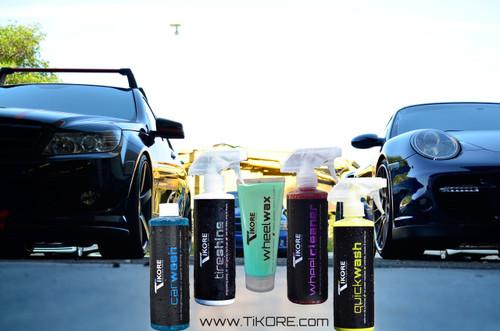 TIKORE (Precision Series) Car Care Package