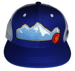 COLORADO MOUNTAIN CAP royal