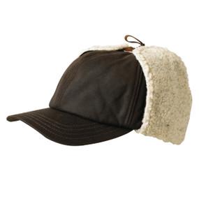 WOOLRICH WAX CAP W/EARS