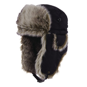 WOOLRICH FAUX FUR AVIATOR