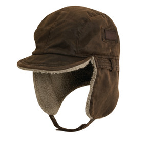 WEATHERED COTTON CAP W/ FLAPS