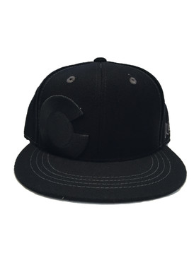 COLORADO ALL BLACK C CAP