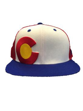 COLORADO THROWBACK MESH CAP RWB