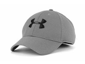 MENS UA BLITZING II STRETCH CAP L/XL 040