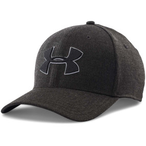 MENS UA CLOSER 2.0 CAP BLK/AMG/BLK M/L