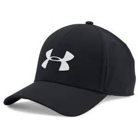MENS UA CCOOLSWITCH TRAINING CAP BLK/SLV M/L