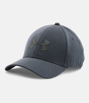 MENS UA CCOOLSWITCH TRAINING CAP STY/BLK M/L