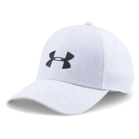 MENS UA CCOOLSWITCH TRAINING CAP WHT/BLK L/XL