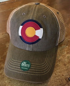 CO FLAG LOGO TRUCKER