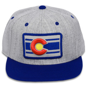 HEATHER CLASSIC SNAP BACK Blue