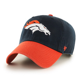 DENVER BRONCOS CLEAN UP CAP 2 TONE NAVY