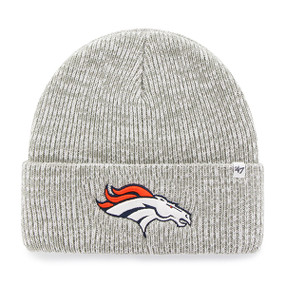 DENVER BRONCOS BRAIN FREEZE CUFF KNIT