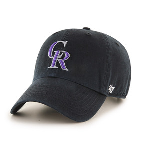 CO ROCKIES CLEAN UP CAP BLACK
