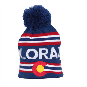 CO FLAG BEANIE
