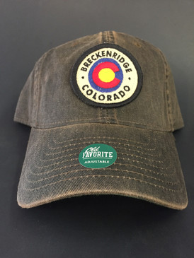 BRECK CO W/FLAG CIRCLE CAP