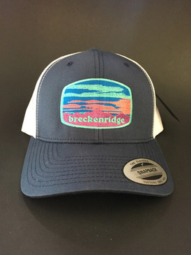Breck sunset cap Nvy/Wht