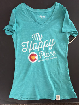 MY HAPPY PLACE T Turquoise