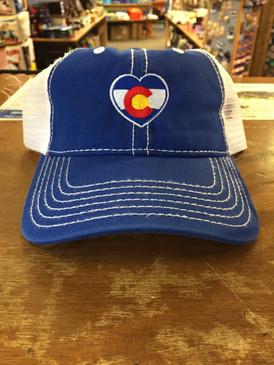 CO HEART FLAG TRUCKER