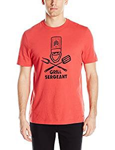 MENS T GRILL SERGEANT RED