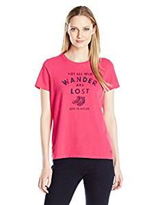 WOMENS T ALL WHO WANDER
