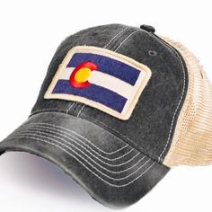 CO FLAG CAP MESH BACK