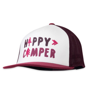 WOMEN'S HAPPY CAMPER TRUCKER