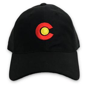 CO FLAG LOGO DAD CAP