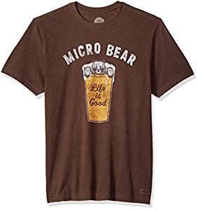 MENS T MICRO BEAR
