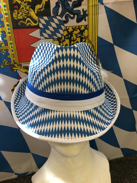 CHECKERED BAVARIAN HAT