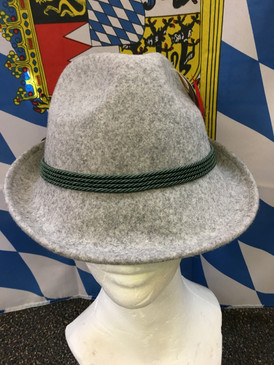AUSTRIAN WOOL HAT GREY