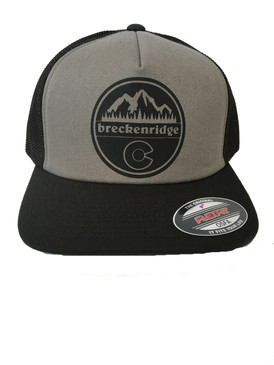 BRECK CIRCLE MTN FLAG GREY/BLK