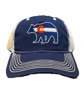 BEAR CO FLAG CAP ROYAL