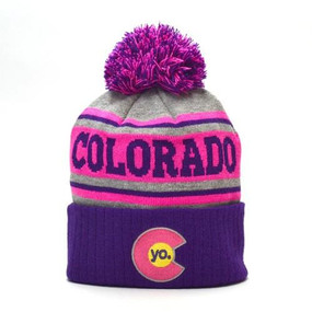 POM BEANIE PURPLE CRUSH