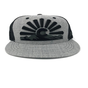 COLORADO SUNSET CAP HTH GRY
