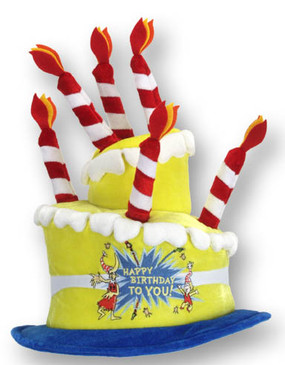 DR.SEUSS BIRTHDAY CAKE