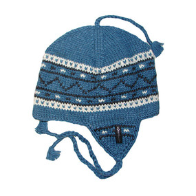 DANISH EARFLAP SLATE BLUE