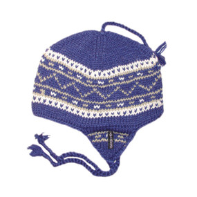 DANISH EARFLAP DARK BLUE