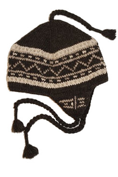 DANISH EARFLAP BLACK