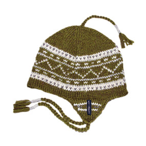 DANISH EARFLAP GREEN